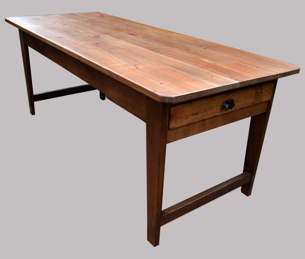 table de ferme bretonne merisier et ch taignier. Black Bedroom Furniture Sets. Home Design Ideas