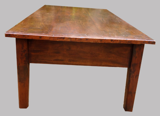 Jolie Petite Table Basse Ancienne En Pin Ancien D 39 Italie