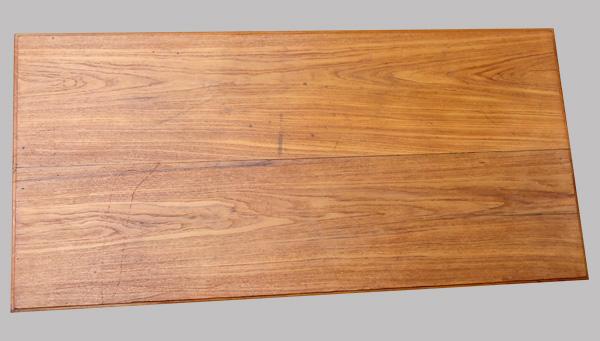Large Table Basse Ancienne En Teck Origine Inde