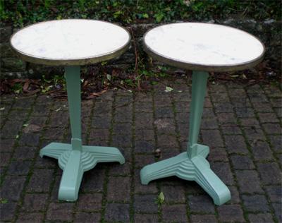 Table bistrot godin table de lit - Pied de table bistrot ...