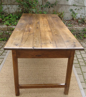 Divers mod les de tables anciennes en bois naturel charme for Le bon coin art de la table