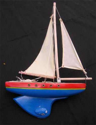 Ancienne maquette bateau voilier de bassin - Voilier de bassin ancien nanterre ...